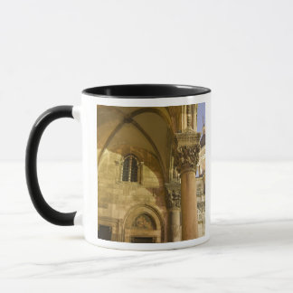 Rector's Palace Arches with Dubrovnik Cathedral Mug