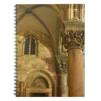 Rector's Palace Arches with Dubrovnik Cathedral Notebook