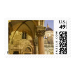 Rector's Palace Arches with Dubrovnik Cathedral Stamps