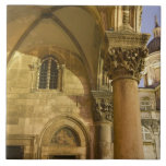Rector's Palace Arches with Dubrovnik Cathedral Tile