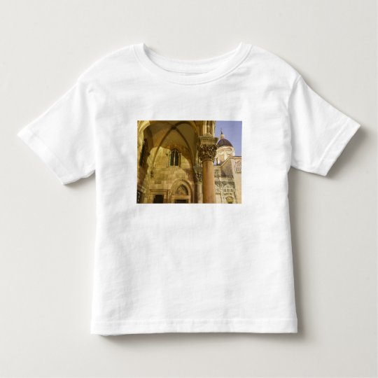 Rector's Palace Arches with Dubrovnik Cathedral Toddler T-shirt
