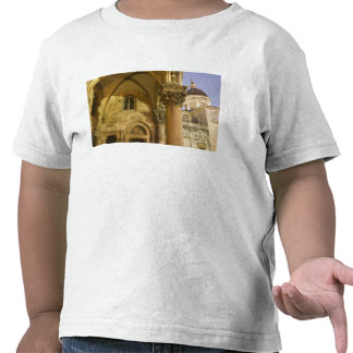 Rector's Palace Arches with Dubrovnik Cathedral T Shirt