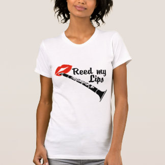 Recubra con caña mi Clarinet de los labios Camiseta