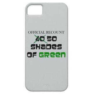 Recuento - 50 sombras de verde funda para iPhone SE/5/5s