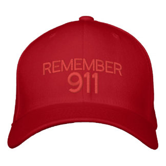 RECUERDE 911 - Gorra de béisbol adaptable