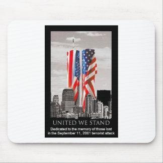 Recuerde 9/11 alfombrillas de ratón