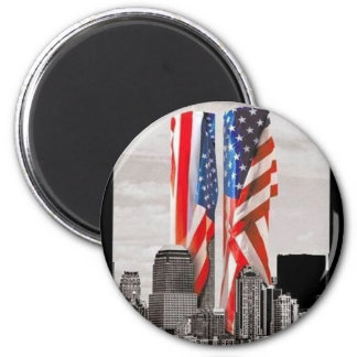 Recuerde 9/11 iman de frigorífico