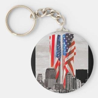 Recuerde 9/11 llaveros