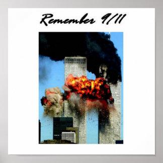 Recuerde 9/11 póster