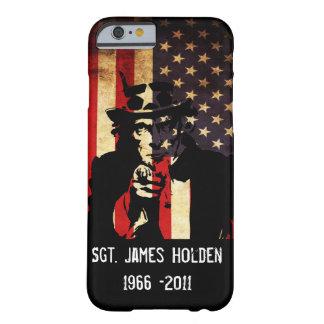 ¡Recuerde a nuestras tropas! Patriota Funda Barely There iPhone 6