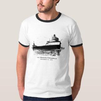 Recuerde al equipo de los SS Edmund Fitzgerald Poleras