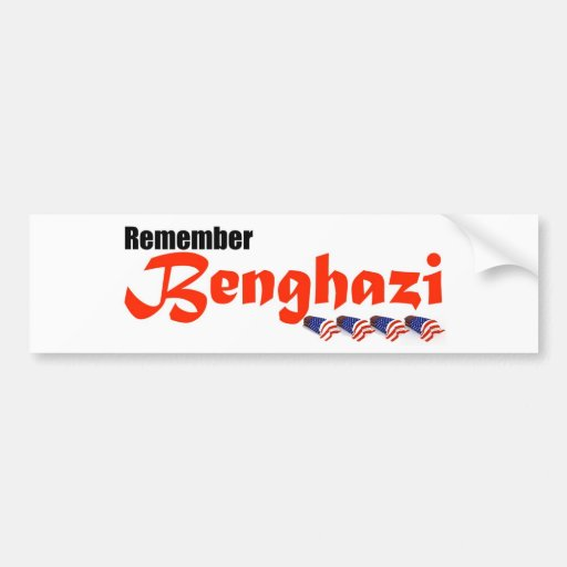 Recuerde Bengasi Pegatina Para Auto