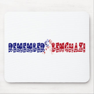 Recuerde Bengasi Mouse Pads