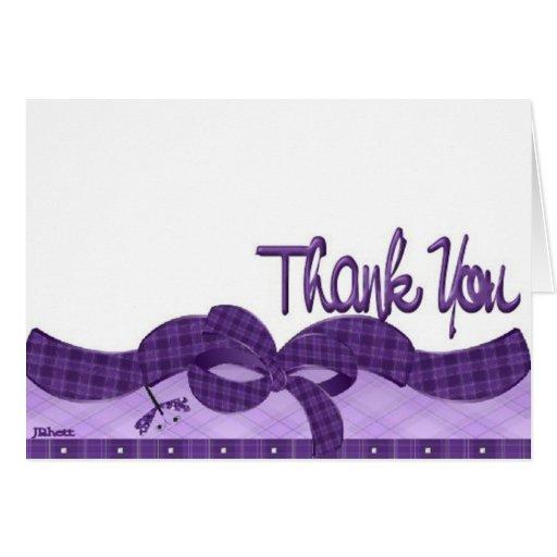 Recuerde decir le agradecen tarjeta