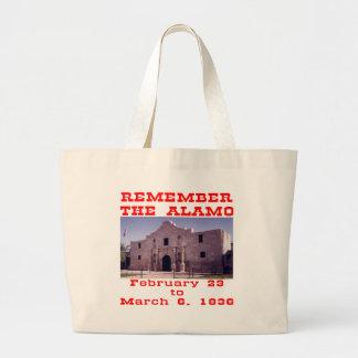 Recuerde el Álamo #001 Bolsas