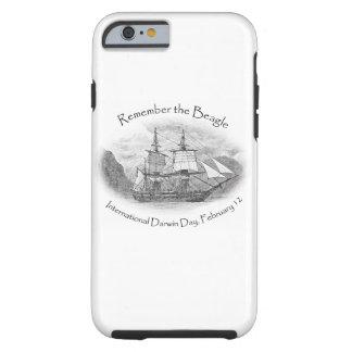 Recuerde el caso del beagle para el iPhone 6 Funda De iPhone 6 Tough