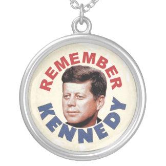 Recuerde el collar de John Kennedy