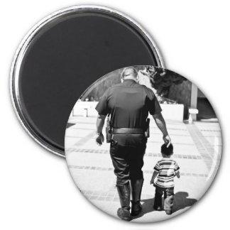 Recuerde el cuidado de los polis imán redondo 5 cm