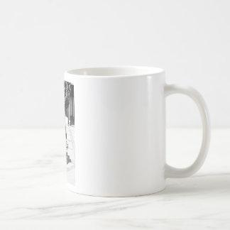 Recuerde el cuidado de los polis taza básica blanca