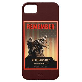 Recuerde el día de veteranos iPhone 5 Case-Mate carcasas