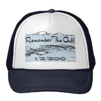 Recuerde el gorra del golfo