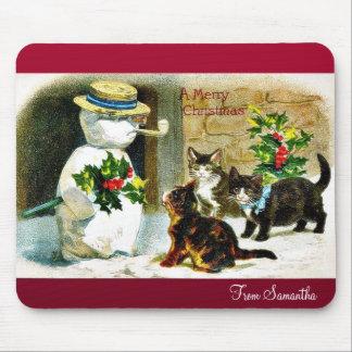 Recuerde el navidad mouse pad