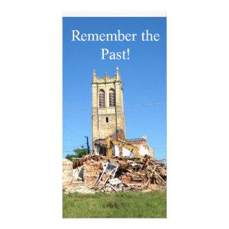 Recuerde el pasado tarjetas personales