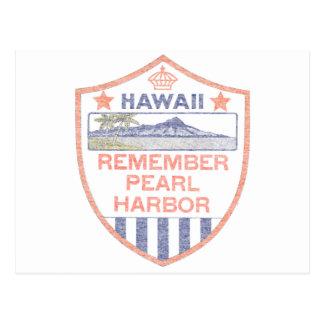 Recuerde el Pearl Harbor Postal