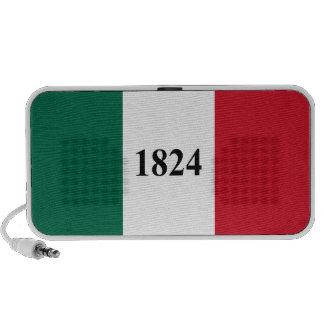 Recuerde la bandera del estado de Álamo Tejas Notebook Altavoz