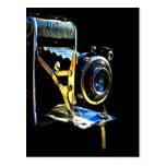 Recuerde la cámara vieja de los momentos maravillo postal