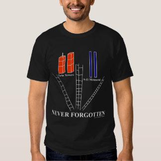 RECUERDE la camiseta conmemorativa 9-11 Remera