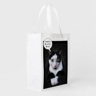 Recuerde la comida para gatos (el personalizable) bolsas para la compra