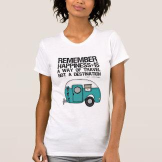 recuerde la felicidad camisetas