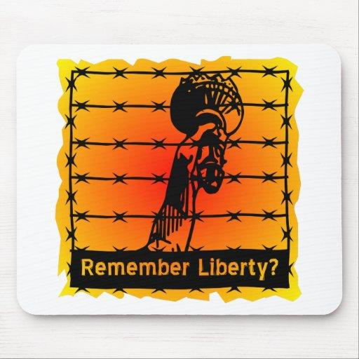 ¿Recuerde la libertad? Mousepads
