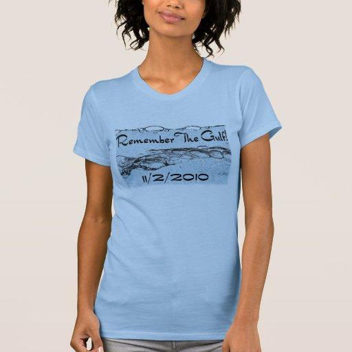 Recuerde la ropa #2 de las señoras del golfo camisetas