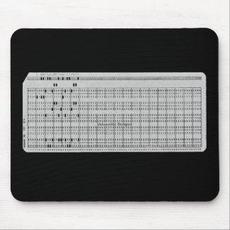 ¿Recuerde la tarjeta perforada? Mousepad