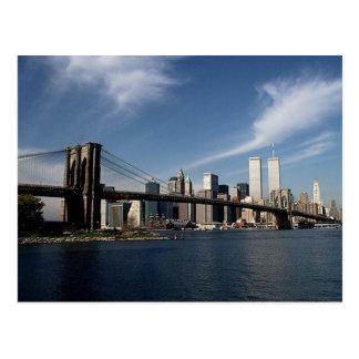 Recuerde las torres gemelas WTC NYC del ~ de la re Postales
