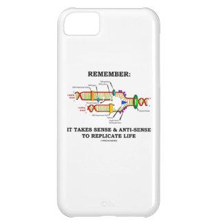 Recuerde: Lleva el sentido antisentido la réplica Funda Para iPhone 5C
