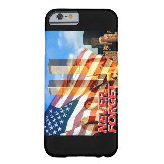 Recuerde los attentados terroristas del 11 de funda barely there iPhone 6