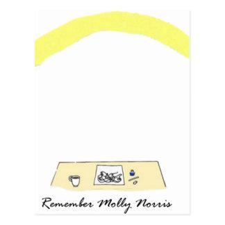 Recuerde Molly Norris Tarjetas Postales