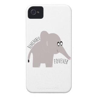 Recuerde para siempre iPhone 4 Case-Mate fundas