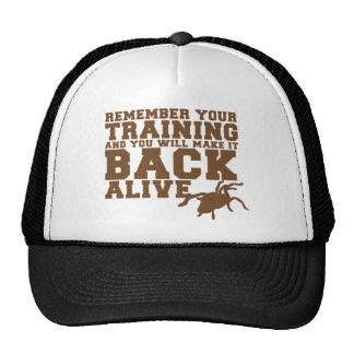 Recuerde que su entrenamiento y usted le hará detr gorro