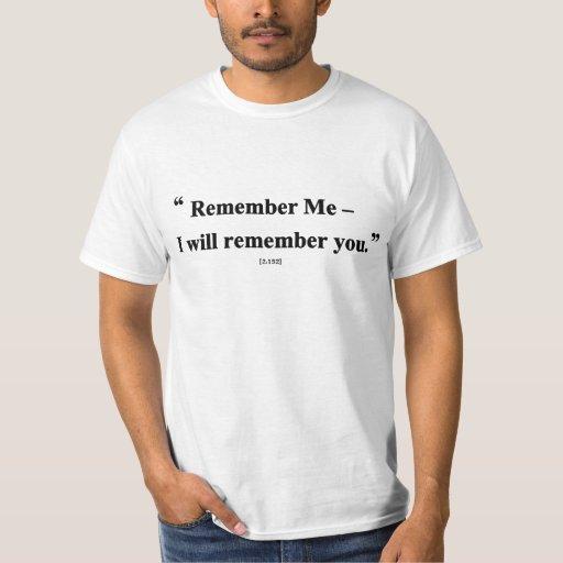 Recuerde Remeras