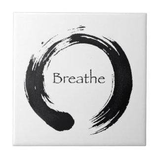 Recuerde respirar azulejo