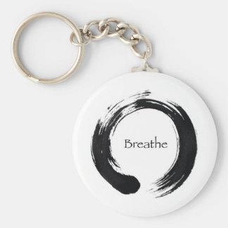 ¡Recuerde respirar! Llavero Personalizado