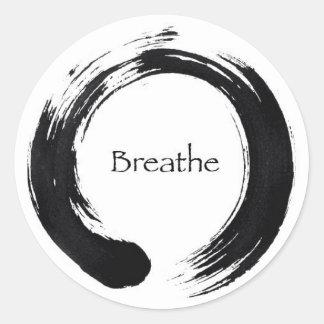 ¡Recuerde respirar! Etiqueta