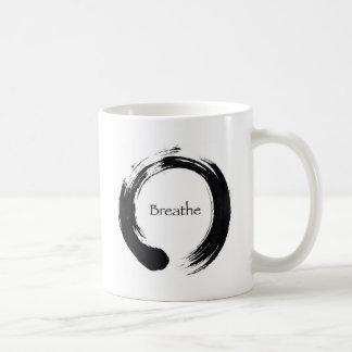 ¡Recuerde respirar! Taza De Café