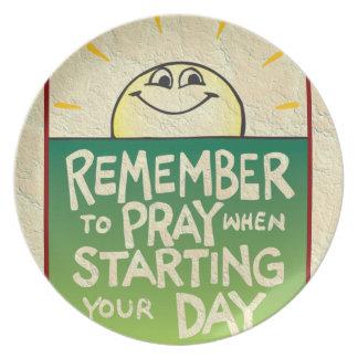 Recuerde rogar diario