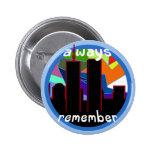 Recuerde siempre 9/11 pin