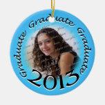 Recuerdo 2013 de la foto del graduado adorno